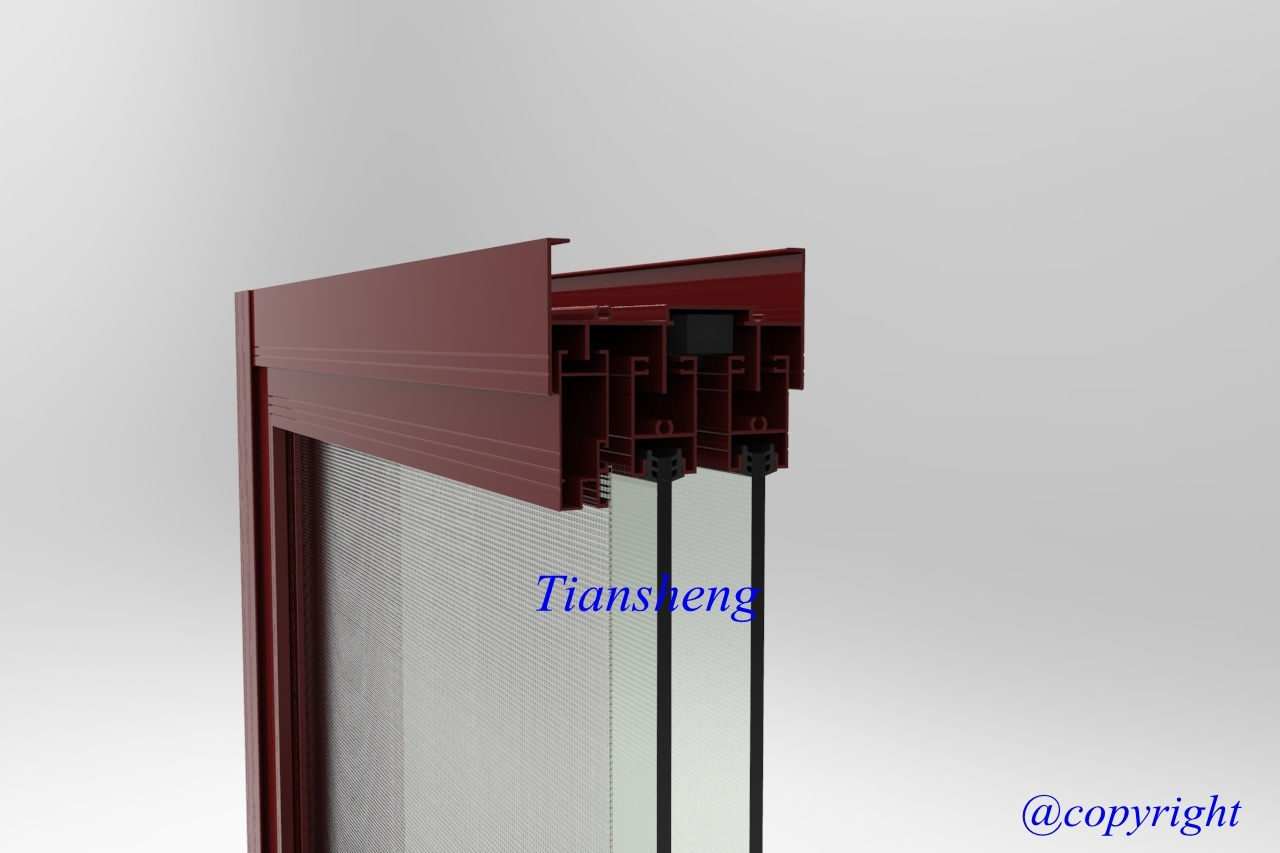 Customized High Quality Residential Style Aluminum Sliding Window with Flyscreeen pictures & photos