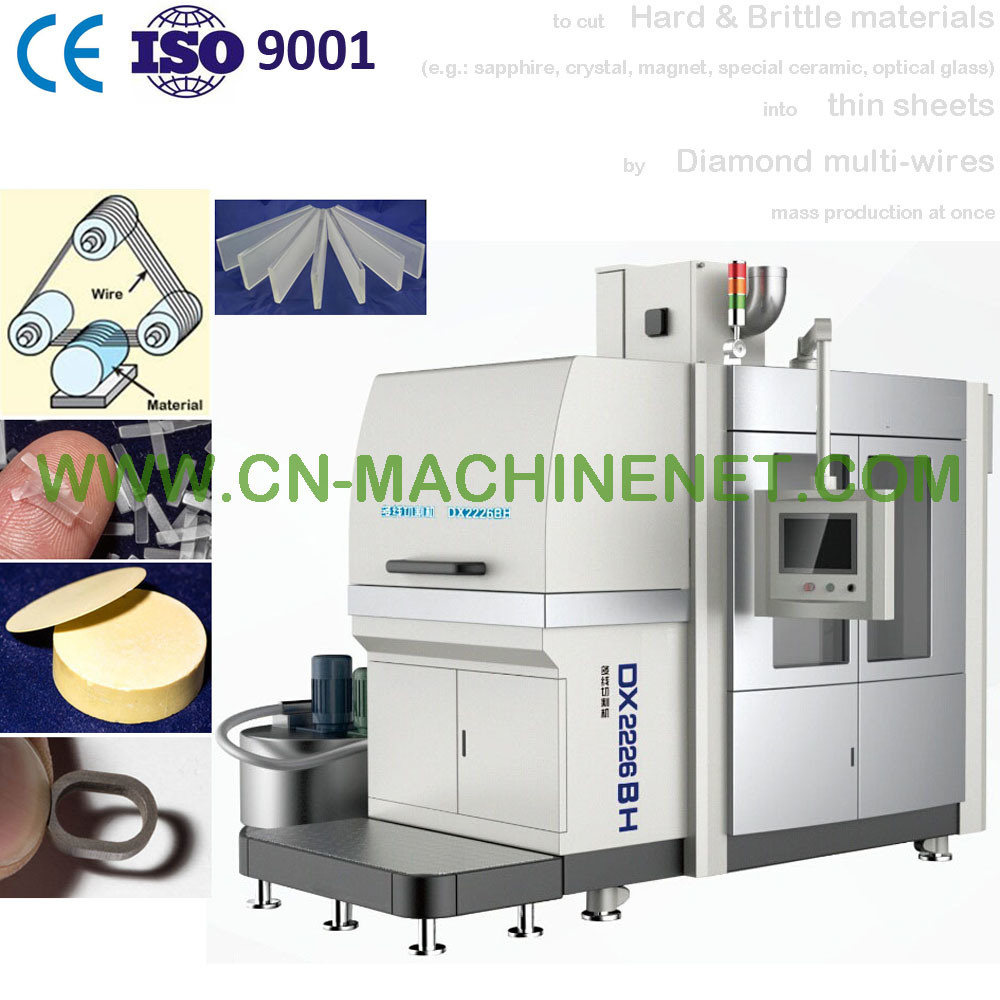 China Automatic Precision Multiwire Saw Cutting Tool Machine to Cut ...