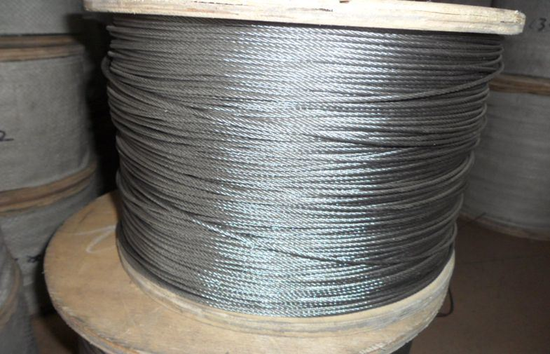 China ASTM Standard Stainless Steel Cable 6X37 for Hoist - China ...