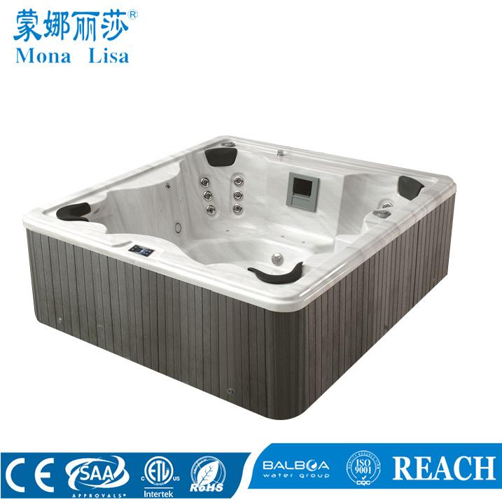 China Rectangle Outdoor Acrylic Hydro Massage SPA Hot Tub (M-3322 ...