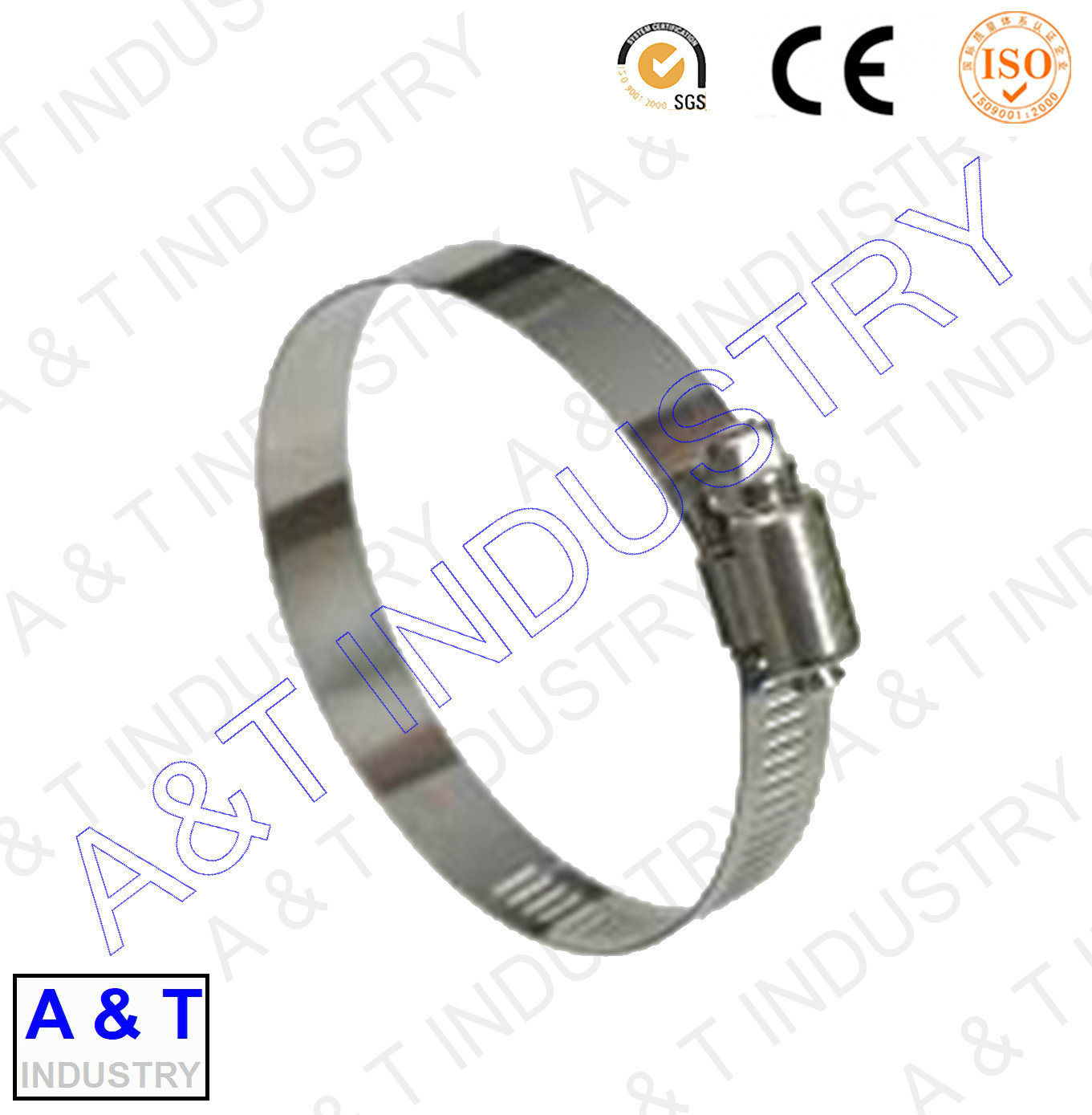 Hot Sale Stainless Steel Hose Clip with High Quality pictures & photos
