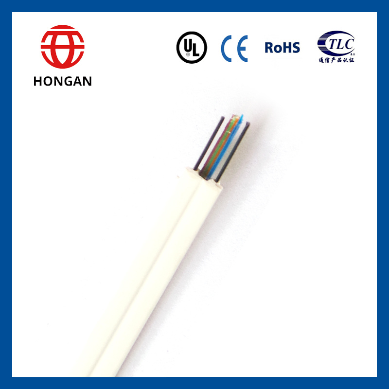 China Fiber Optic FTTH Ribbon Drop Cable for Indoor Wiring - China ...
