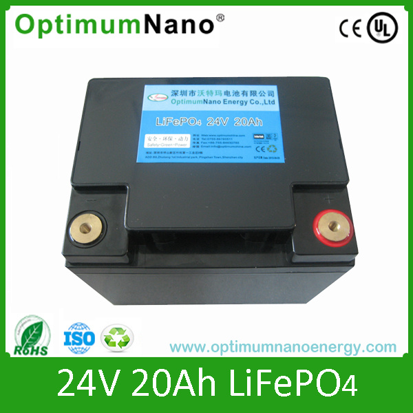 LiFePO4 Battery with CE, UL, C-Tick (12V, 24V, 48V, etc) with PCM and Charger pictures & photos