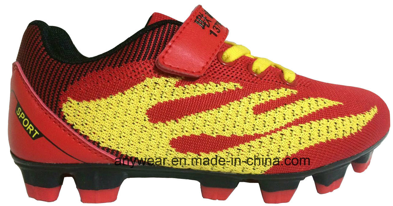 Flyknit Athletic Footwear Soccer Football Shoes (815-9684) pictures & photos