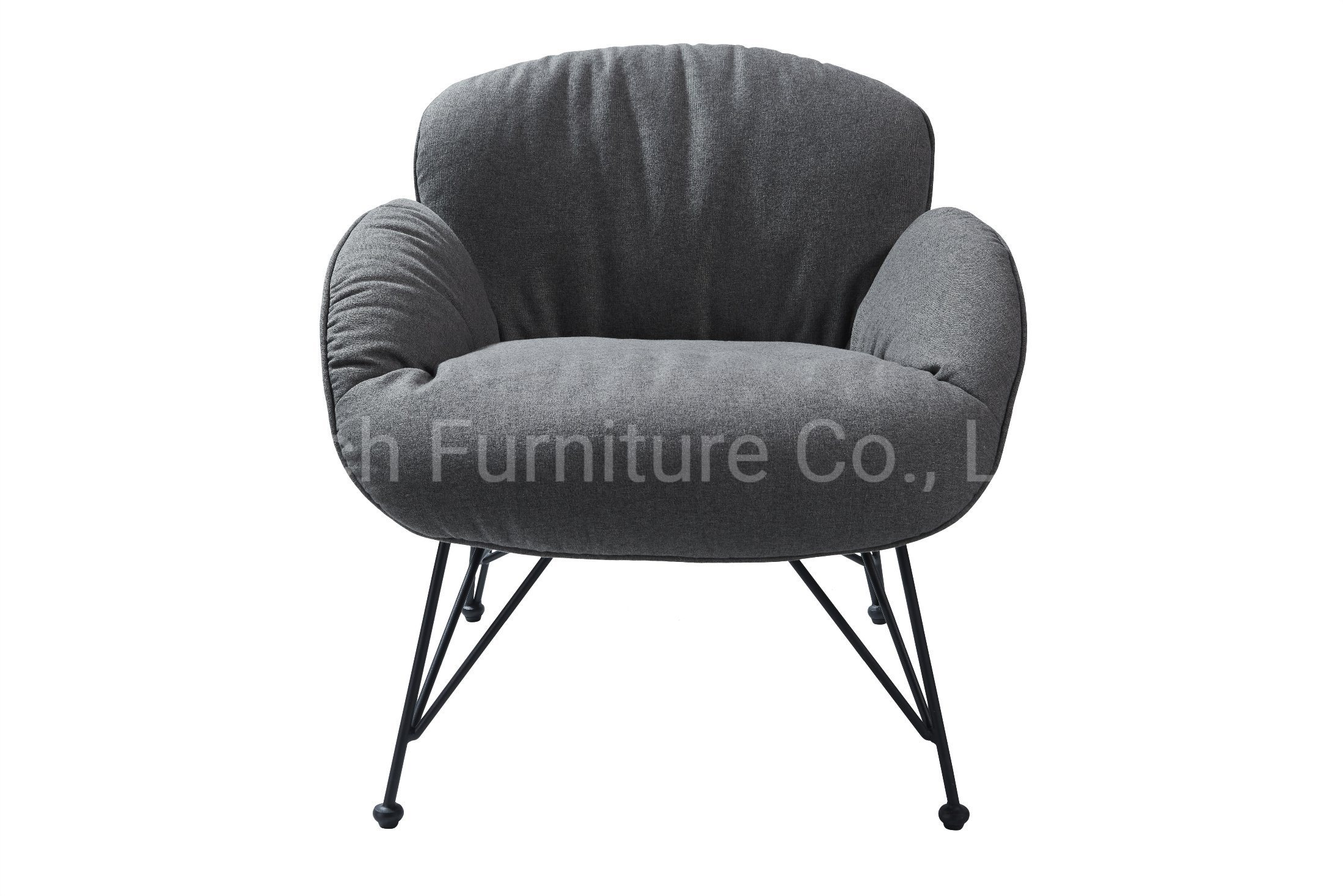 Hot Item Living Room Accent Relax Upholstered Fabric Modern Nordic Designer Lounge Chair