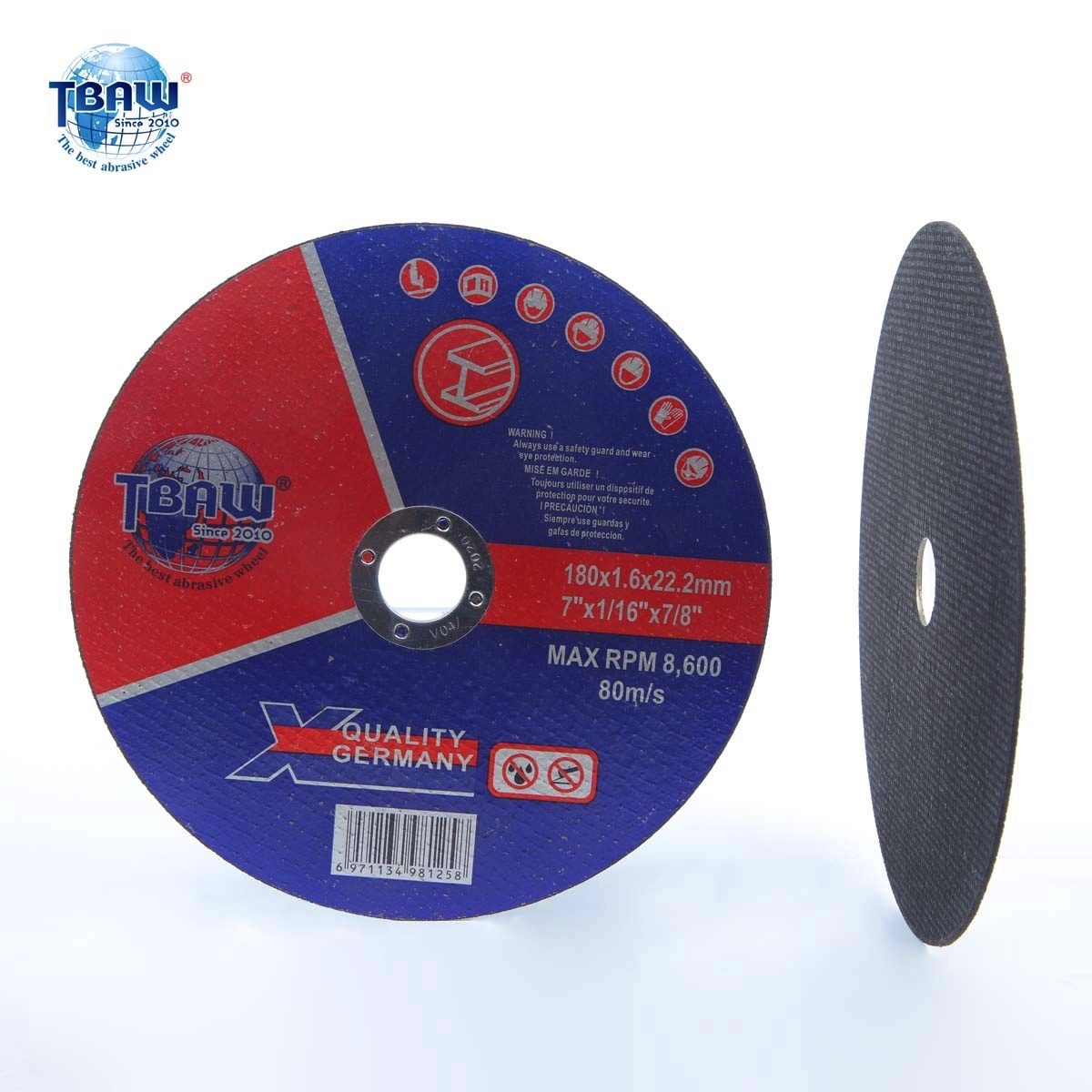 Metal Stainless Steel Cutting Discs 100 Pack 7 X1 16 X7 8 Cut Off Wheel Business Industrial Cnc Metalworking Supplies