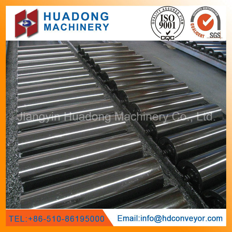 Steel Roller Idler for Bulk Material Belt Conveyor