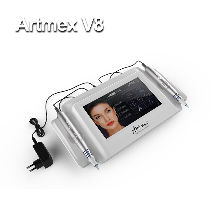 New Artmex V8 Portable Touch Screen Digital Permanent Make-up Machine