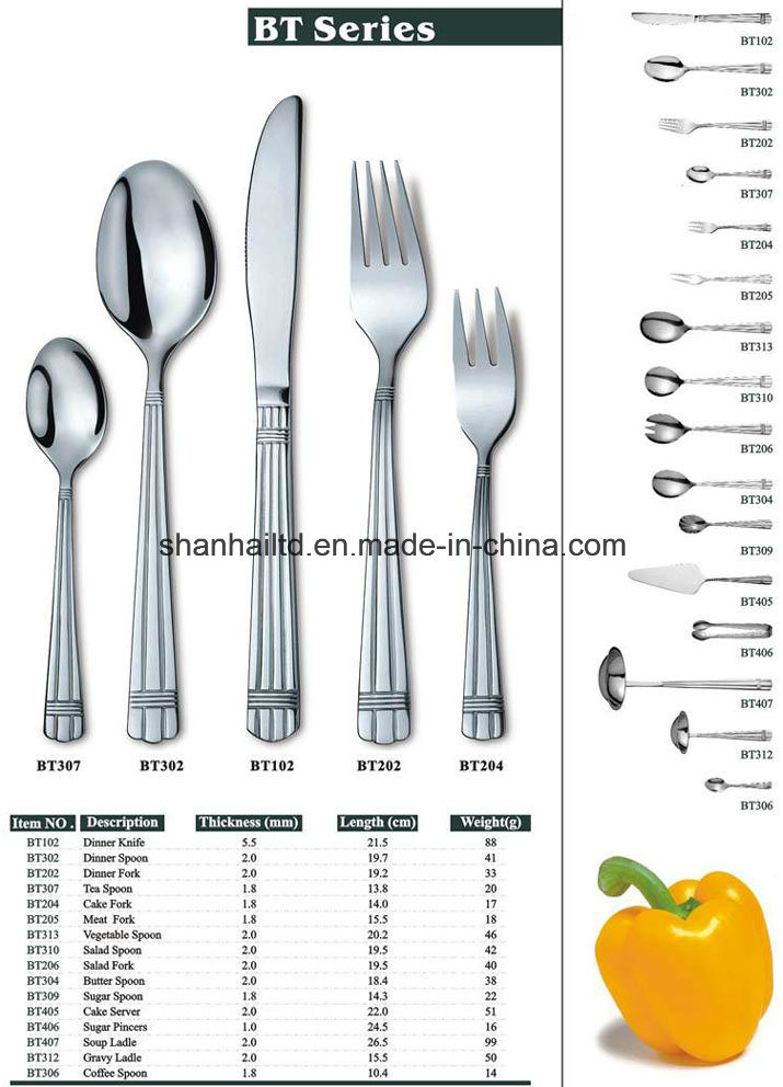 Stainless Steel Tableware Bt