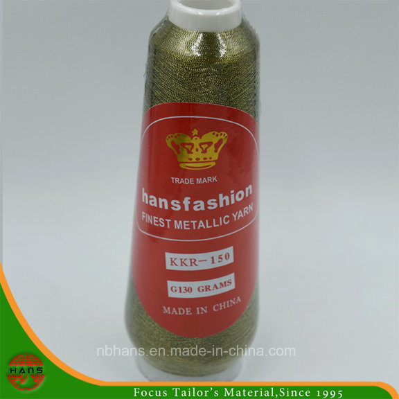 Metallic Embroidery Yarn with 150d Polyester Core