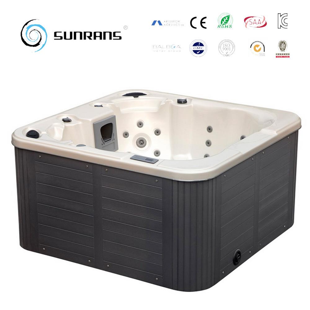 China Hot Sale Whirlpool Bathtub for 4 People Bath Tub - China ...