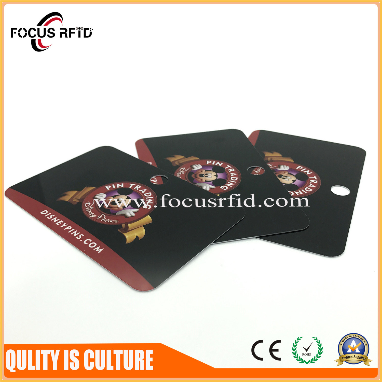 China High Quality Plastic Business Card ISO Size with Full Color ...