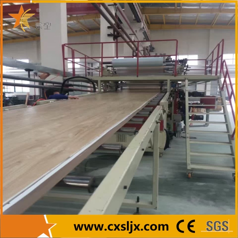 High Efficiency PVC Imitation Marble Board Production Line