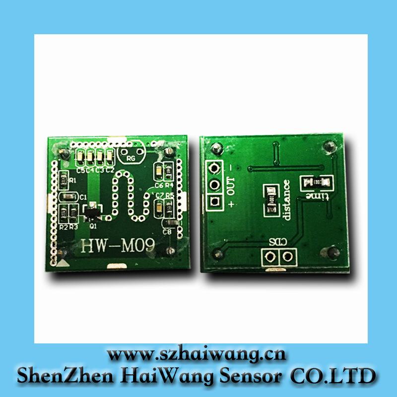 China Microwave Motion Sensor Switch Doppler Radar Wireless Module Hw M09