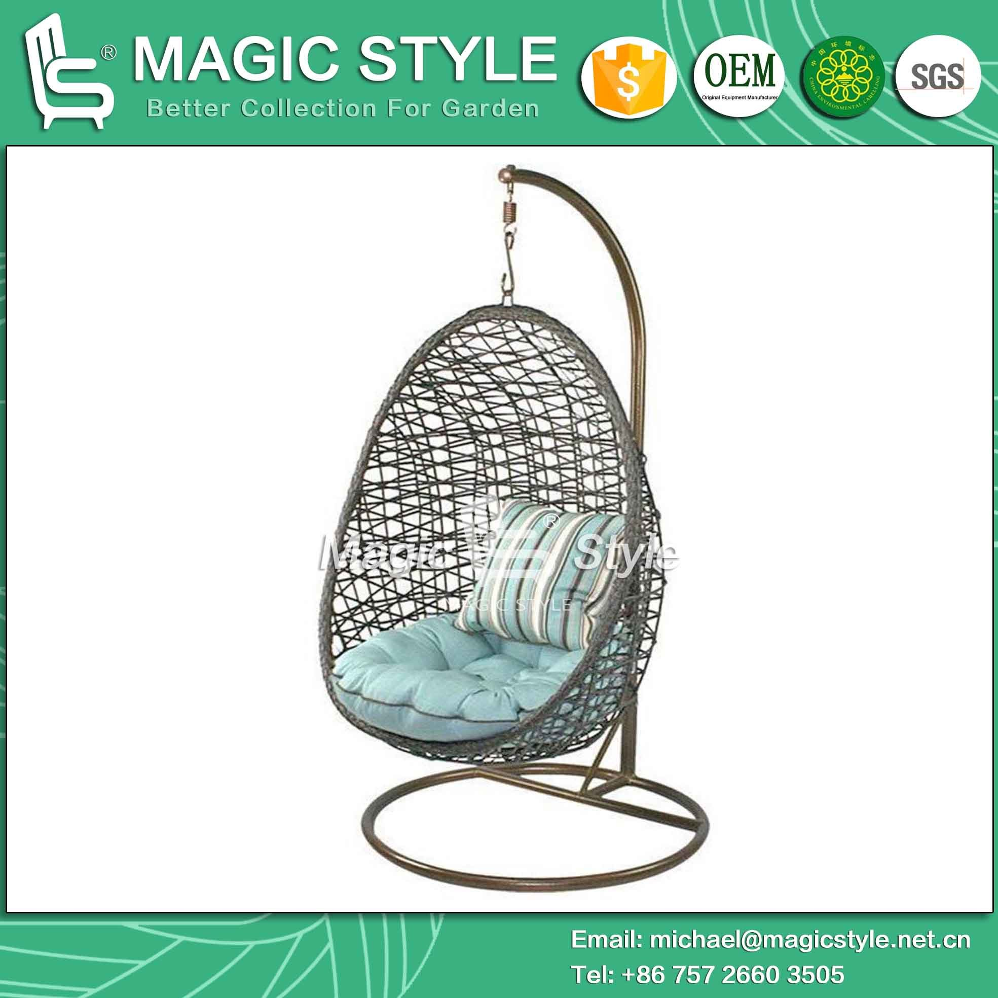 stand swinging arc porch hammock with chaise l hanging canopy chair air lounger swing
