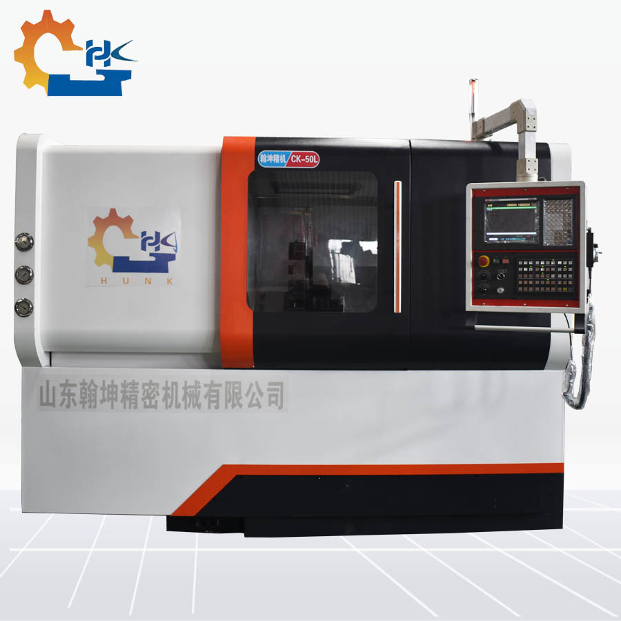 Cnc Mill For Sale >> Hot Item Benchtop 3d Cnc Mill Metal Lathe For Sale Ck50l Cnc Lathe Slant Bed Turning Lathe Machine With Hydraulic Bar Feeder