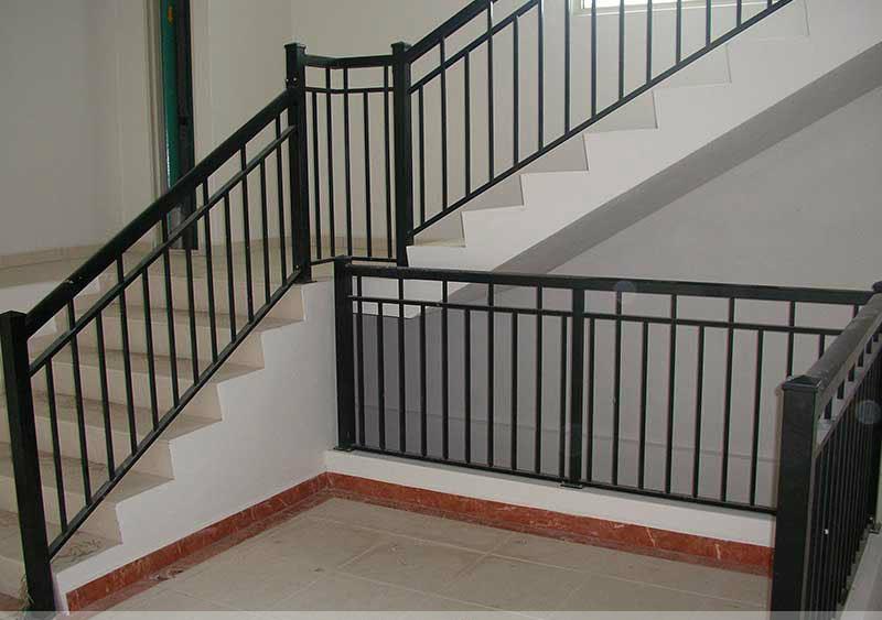 Luxury Iron Grill Design Interior Stairs Railing Handrail Design