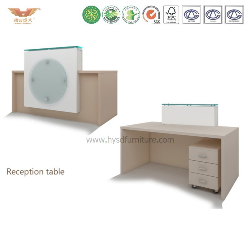 China Reception Desk Beauty Nail Salon Modern White Small