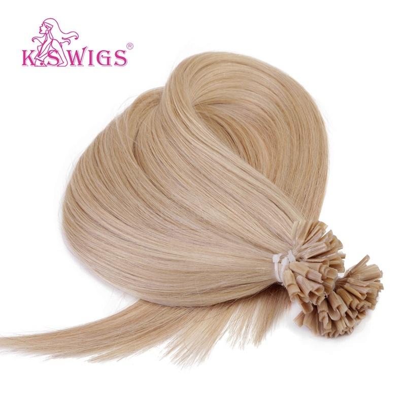 China Factory Wholesale U Tip Remy Human Hair Vigin Brazilian Hair