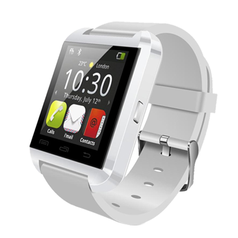 "1.44"" Inch TFT LCD Screen 128*128 Display Pedometer Bluetooth U8 Smart Watch for Health Care"