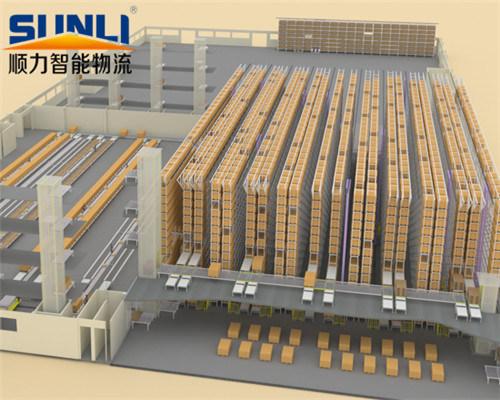 China High Density Warehouse Automated Storage Rack System