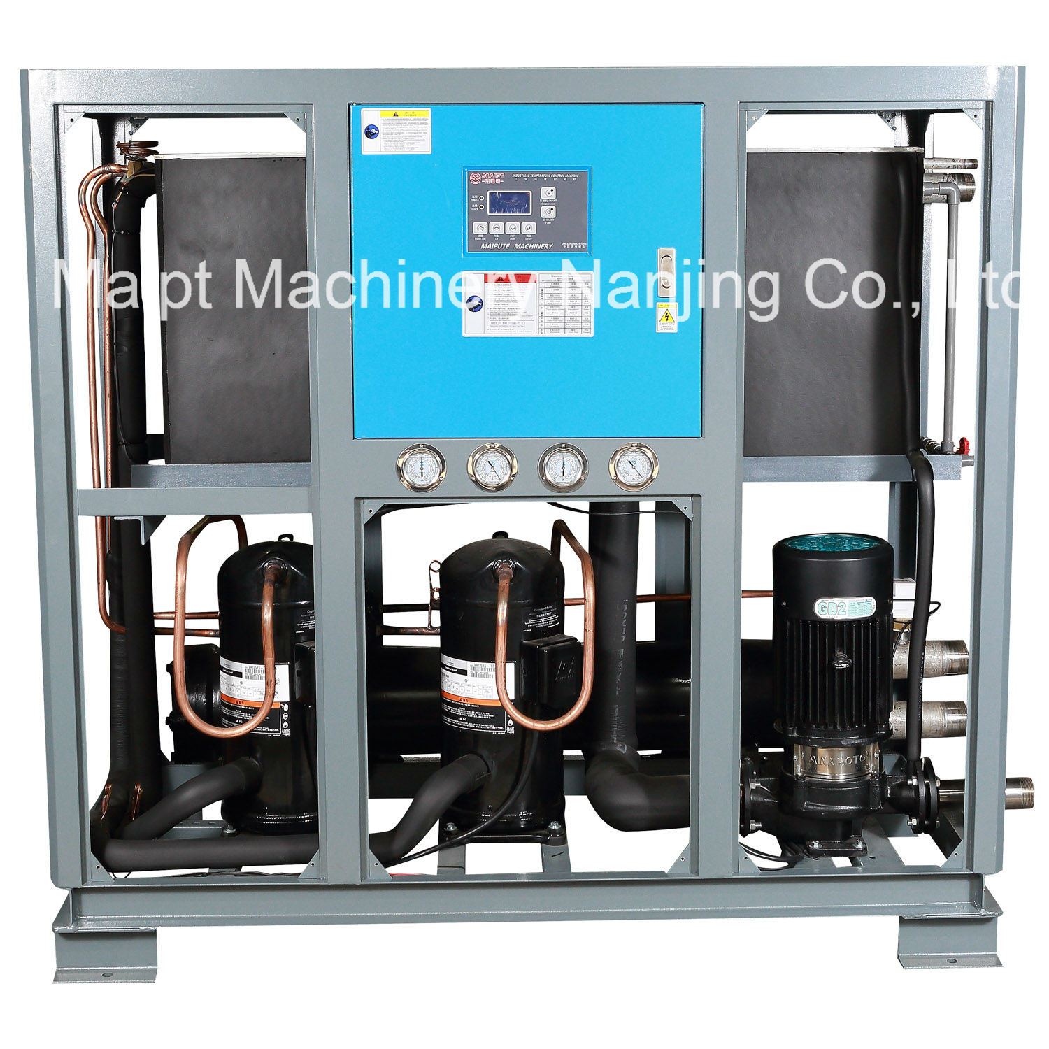 China Portable Water Cooled Scroll Type Industrial Chiller - China Cooling  System, Cooler