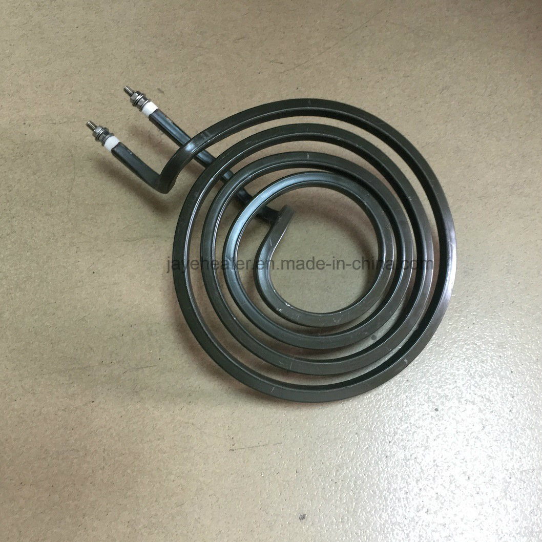China Flat Coil Cooker Tubular Heater For Electric Stove Wiring A Heating Element