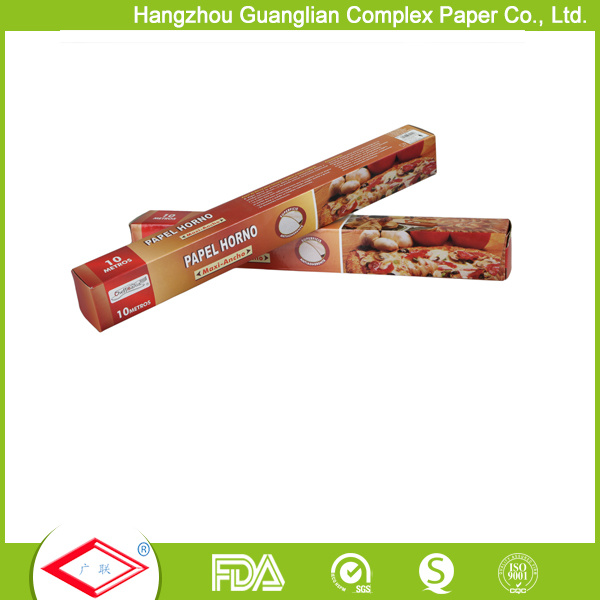 Non-Stick Parchment Paper Roll in Printed Box with Metal Cutter pictures & photos