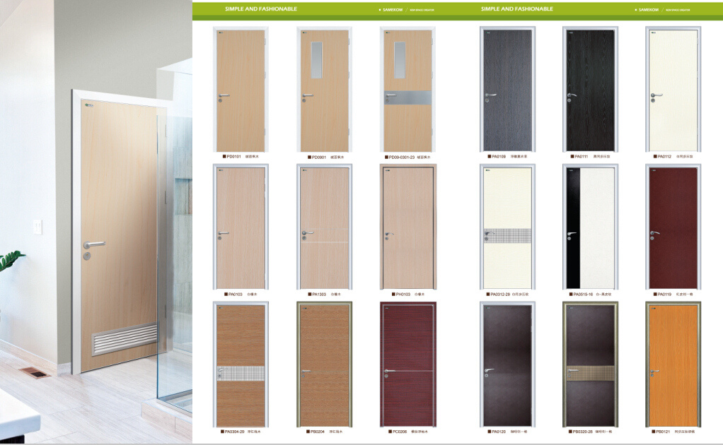 China Manufacturer Wooden Double Office Door Photos & Pictures ... on