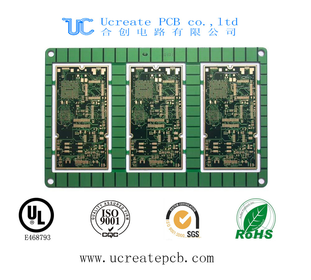 China Multilayer Security Cctv Printed Circuit Board Pcb With Ce The Manufacturing Process Is Difficult And Rohs Main Gps Module