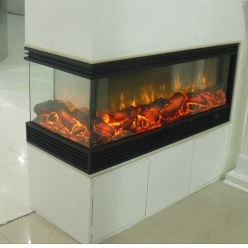 China 3 Sides Or 2 Sides Electric Fireplace Lowes China Electric