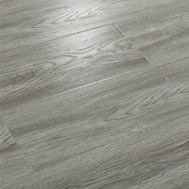 China 12mm Grey Oak Wood Grain, Waterproof Laminate Wood Flooring