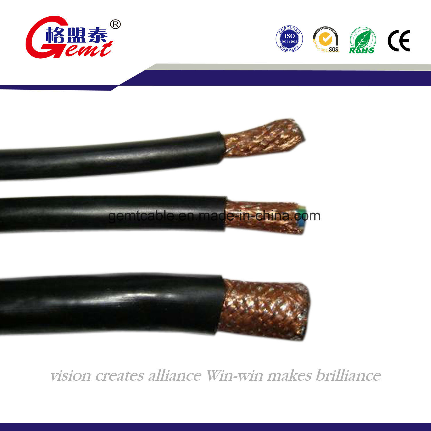 China UL Listed! Control Cable 2/4/6/ 8 Cores 16AWG 18AWG Control ...
