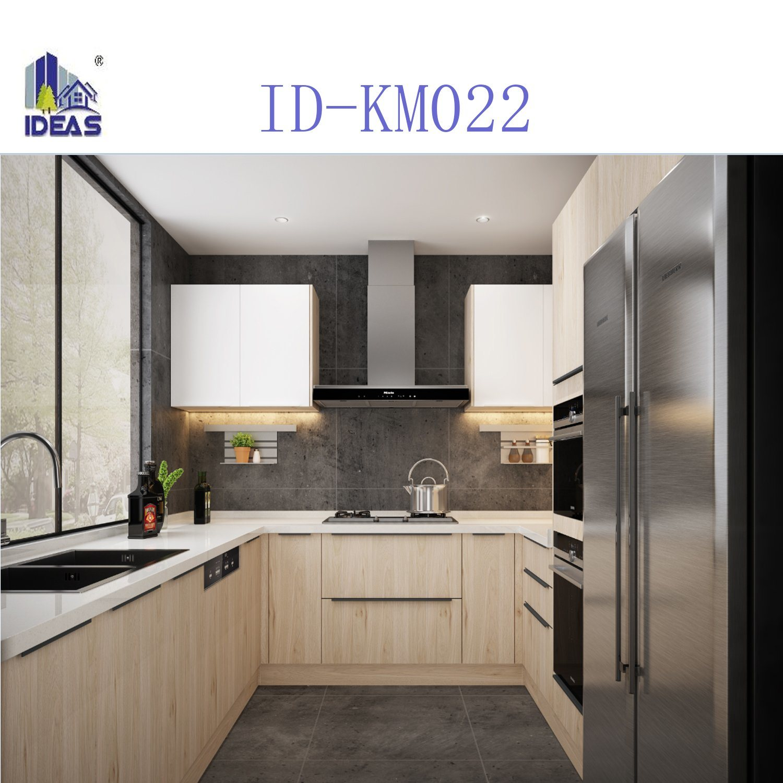 China Standard Modern Melamine Kitchen Cabinet   China Modern ...