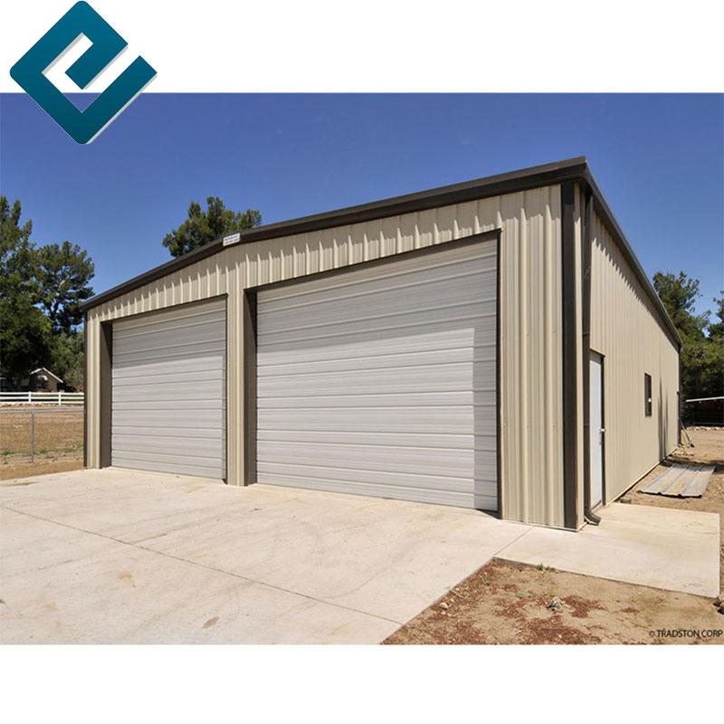 China Insulated Steel Structure Garage, Prefabricated Garage Panels