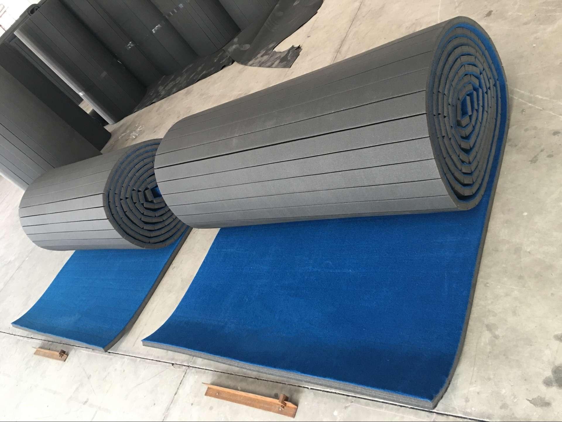 China Factory Best Carpet Bond Cheerleading Mat Cheap