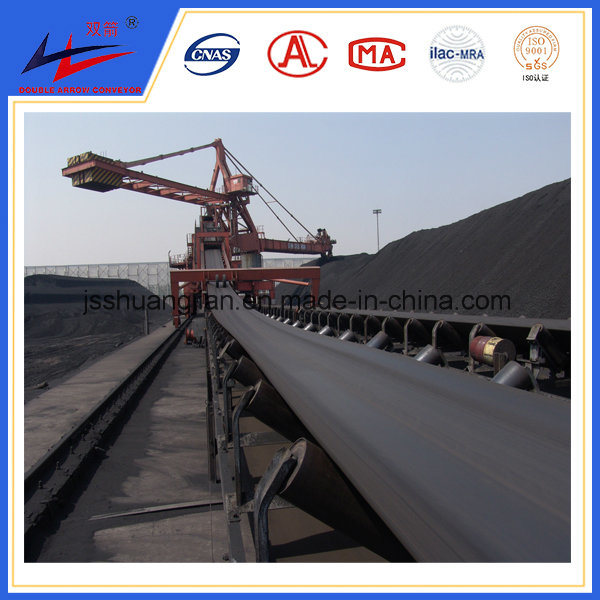 [Hot Item] Double Arrow Good Quality Outdoor Conveyor, Grain Conveyor,  Cleat Belt Conveyor, DJ Conveyor