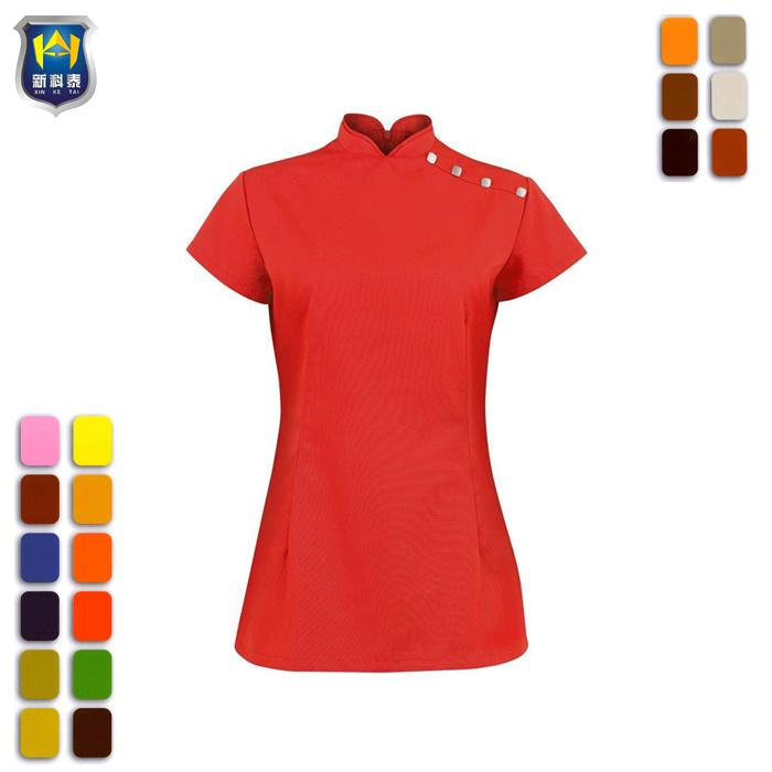 040d67f6 China Custom New Stylish Cotton Beauty Salon SPA Uniform for Women - China  Women Beauty Salon Uniform, Beauty Salons