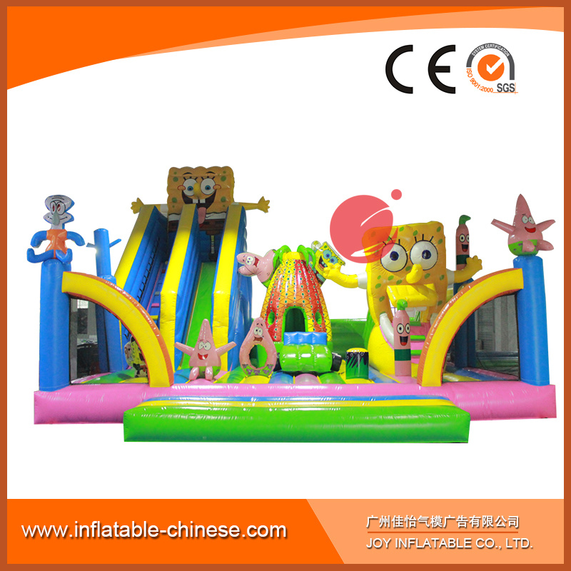 2018 Inflatable Amusement Park Bouncer with Slide (T6-032) pictures & photos