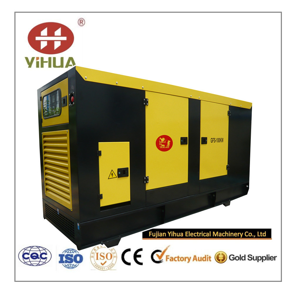 Chinese Engine for Sound Proof Ricardo Diesel Generator Set 100kw/125kVA -  China Ricardo Diesel Genset, Weifang Tianhe Engine