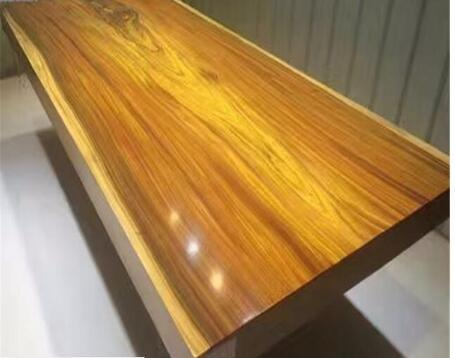 China Popular Birch Wood Solid Wooden Furniture Dining Table
