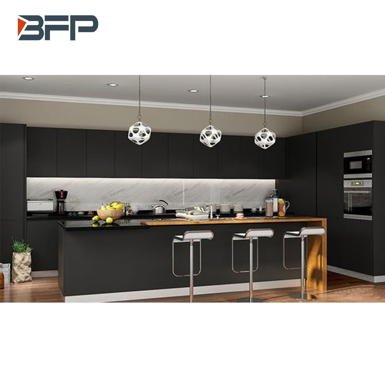 China Affordable Modern Laminate Kitchen Cabinets L Shaped Kitchen Designs Bmk 74 China Kitchen Cabinets Kitchen Furniture