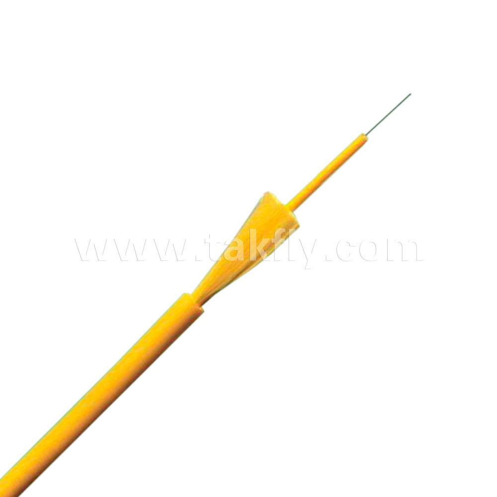 Hot Item 1 Fiber Ftth Indoor Cable With Tight Buffer Optic Optical Gjfjv Type Single Core House Wiring China Communication