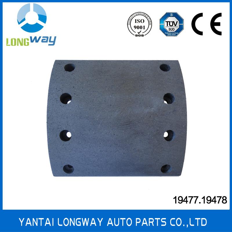 China 19477 Brake Lining For Truck China Auto Parts Brake Lining