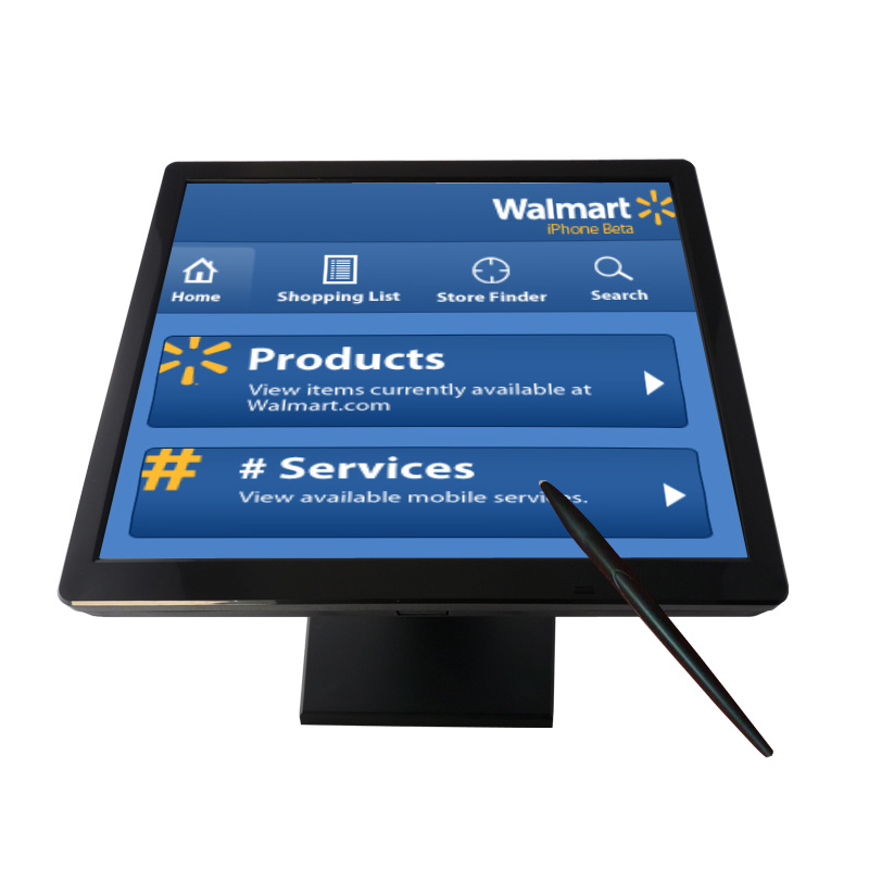 "17"" TFT LCD Touch Screen Monitor Computer PC Monitor"