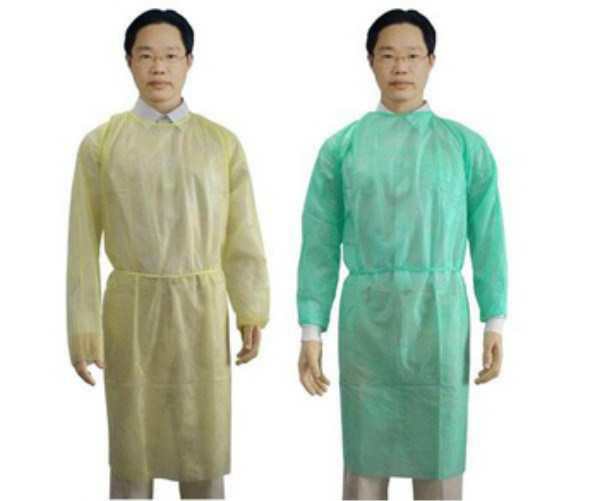 China Medical Nonwoven Disposable Surgeon Sterile Isolation Gown ...