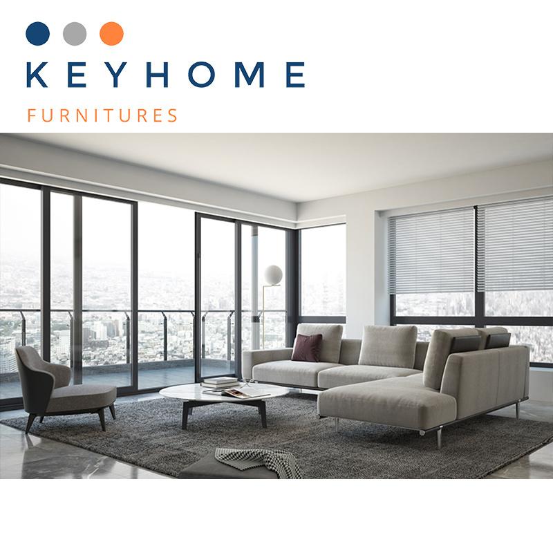 Livingroom Furniture L Shape Sofa
