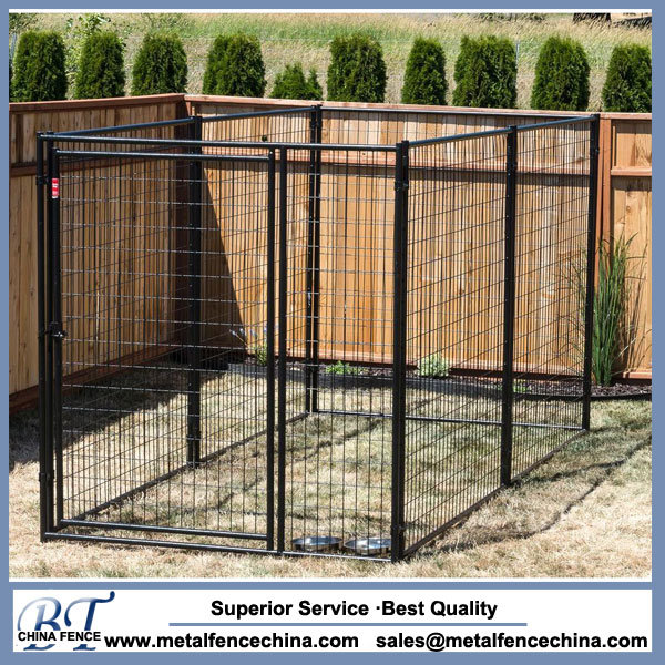 Welded Large Dog Cage Backyard Dog Kennels - China Welded Large Dog Cage Backyard Dog Kennels Photos & Pictures