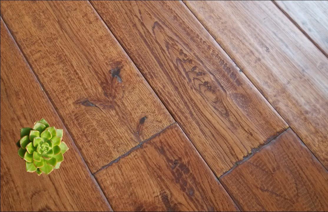 China Hand Sed Hardwood Parquet Oak Wood Flooring