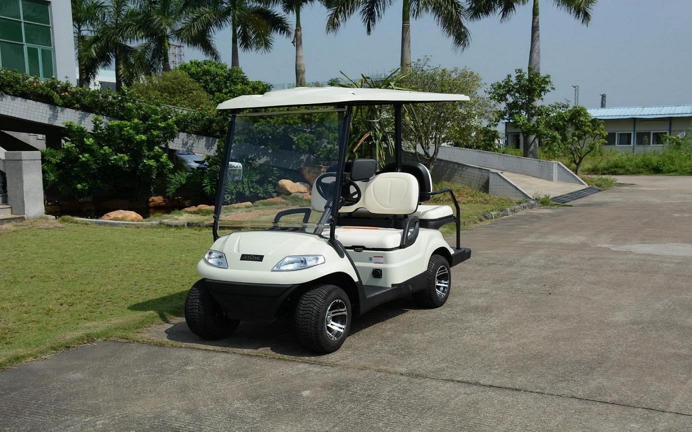 Lvtong Brand off Road 4 Seaters Golfcart with Ce Certificate pictures & photos